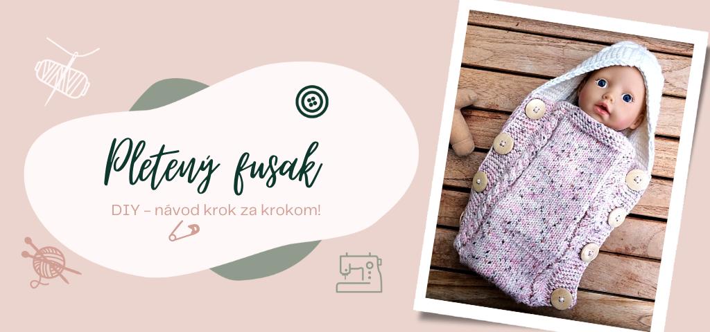 Pletený fusak